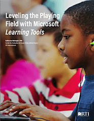 Research: Improving Literacy With Learning Tools