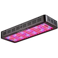BESTVA DC Series 1800W LED Grow Light Full Spectrum Grow Lamp for Greenhouse Hydroponic Indoor Plants Veg and Flower