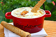 Cocotte of rainy days - Oeuf cocotte with endives and morbier cheese