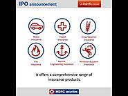 ICICI General Insurance Company Ltd IPO details by HDFC Securities