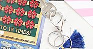 Make Monogrammed Keychains for Holiday Gifting