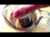 How to remove a McCormick pepper grinder cap.