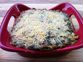 Peace, Love, and Low Carb: Roasted Red Pepper, Spinach and Artichoke Dip