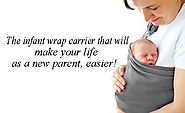 How Infant Wrap Carriers Can Help You Live a Better life - BabyAero