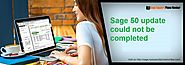 Sage 50 update could not be completed +1-844-313-4857