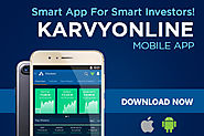 Indian Share/Stock Market Live Online at Karvy Online