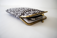 iPhone cover, iPhone case, iPhone sleeve, dotted iPhone case, smartphone cover