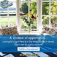Window Repair Services by The Window Factory