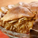 Deep Dish Apple Pie with Whole Wheat Crust