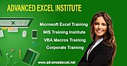 Excel Training in Gurgaon | Advanced Excel Training in Gurgaon: Advanced Excel Institute