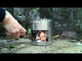 How to...make a Hobo stove! HD