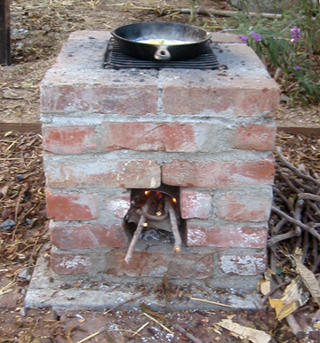Headline for Homemade Rocket Stoves