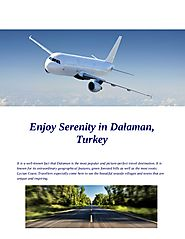 Enjoy serenity in dalaman, turkey