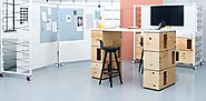 Use modular furniture to make workspaces ultra-flexible