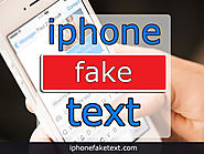 Create and share lifelike iPhone text conversations