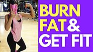 Home Fat Loss Workout For Beginners (Lazy Girl Routine)