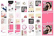 Instagram pack 'Pink Passion'