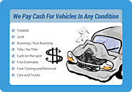 We Offer Cash for Junk Cars around Cary and its Neighboring Areas!