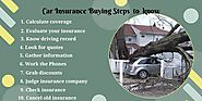 Best car insurance buying steps for all to know about