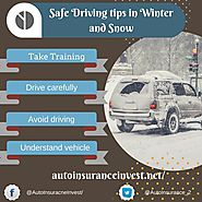 Safe Driving tips in Winter and Snow | Auto Insurance Invest