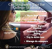 Ways College Students can Save on Car Insurance | Auto Insurance Invest