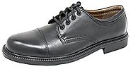 Dockers Men's Gordon Cap-Toe Oxford (13 2E US, Black Tumbled)