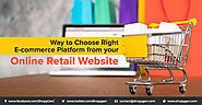 How to choose an eCommerce Platform Based on Business Size? | ShopyGen