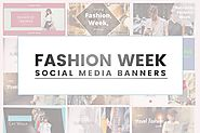 Fashion Social Media Banners by cowthemes on Envato Elements