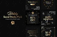 Holiday Social Media Pack by Anthonyrich on Envato Elements