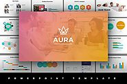 Aura Powerpoint Template by Jetfabrik on Envato Elements