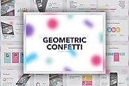 Geometric Confetti PowerPoint Template by Jumsoft on Envato Elements