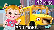 Wheels On The Bus Nursery Rhyme for Kids Online at Free