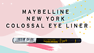 Maybelline Colossal Liner : Review, Swatch, Price, Rating
