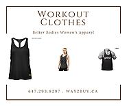 Choose and Use perfect Workout Clothing with Way2Buy