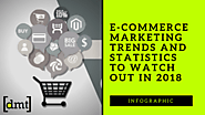 Infographic: E-commerce Marketing Trends And Statistics to Watch Out In 2018