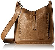 Rebecca Minkoff Unlined Feed Bag with Whipstich, Almond