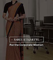 The Saree Etiquette for the Corporate Woman