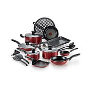 T-fal 20-Piece Nonstick Cookware Set $49.99 (Black Friday) @ Target