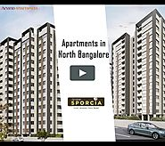 2, 3 BHK Apartments, Flats for Sale in Hebbal ~ Arvind Sporcia