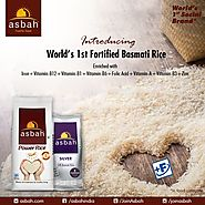 Asbah offer You Fortified Rice Kernel