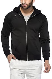 Tinted Men's Polyester Hooded Sweat Shirt
