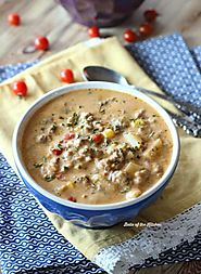 Crockpot Cheeseburger Soup Recipe