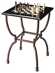Butler Specialty Company 6061025 Fossil Stone Game Table,