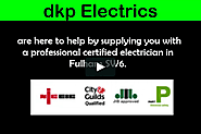 Electrician in Fulham - dkp ELECTRICS Ltd on Vimeo