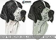 How to Digitize Dog Embroidery Designs? - Absolute Digitizing