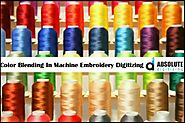Color Blending In Machine Embroidery - Absolute Digitizing