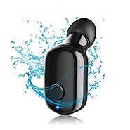 Wireless Bluetooth Headphone,PAKASEPT IP67 Waterproof Mini Earbuds Invisible Earpiece with Microphone,5 Hours Playtim...