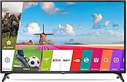 LG 108cm (43 inch) Full HD LED Smart TV Online | No Cost EMI & Exchange Offer