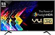 Vu 140cm (55 inch) Ultra HD (4K) LED Smart TV Online | No Cost EMI & Exchange Offer