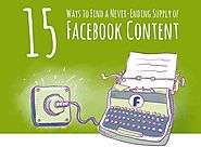EXTRA! 15 Ways to Find Facebook Content Ideas [Infographic]